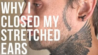 Why I Closed My Stretched Ears | UrbanBodyJewelry.com
