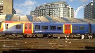 getlinkyoutube.com-South West Trains: London Waterloo to Kingston.
