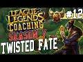 Season 7 LoL Coaching #12 - Twisted Fate mid vs. Malzahar S6 Gold