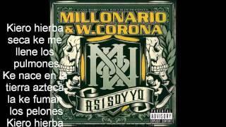 """getlinkyoutube.com-Millonario & W. Corona """"Fumando Weed"""" [Con letra]"""