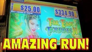 getlinkyoutube.com-Far East Fortunes II BIG WIN + PROGRESSIVE + MAX BET BONUS Amazing Slot Machine Run
