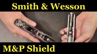 getlinkyoutube.com-Smith and Wesson M&P Shield Field strip (9mm and 40)