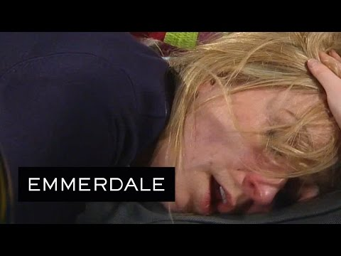 Emmerdale - Laurel Chokes On Her Own Vomit