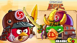 getlinkyoutube.com-Angry Birds Epic: NEW Cave 11 Mocking Canyon Level 10 Gameplay Walkthrough