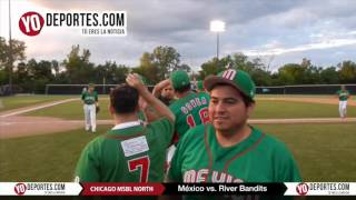 Mexico 0-3 River Bandits Chicago North Men's Senior Baseball League