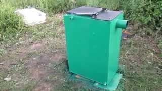 getlinkyoutube.com-Котел Холмова 12 кВт на дровах, пеллетах, опиле, биотопливе .