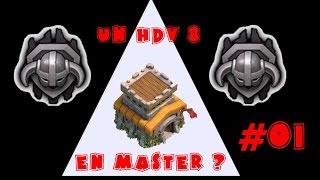 getlinkyoutube.com-Clash of clans   UN HDV 8 EN MASTER ? - # 01   Le Début du Rush