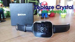 getlinkyoutube.com-Zeblaze Crystal, unbox y review en español [Smartwatch con Heart Rate + IP65]
