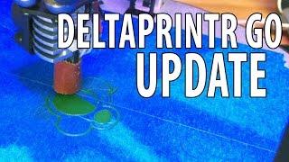 getlinkyoutube.com-Deltaprintr Go 3D Printer Update - It's Fixed!