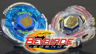 getlinkyoutube.com-BATTLE: Storm Pegasus 105RF VS Lightning L-Drago 100HF - Beyblade Legends/Metal Fusion