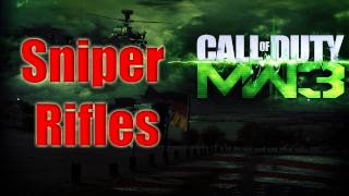 getlinkyoutube.com-MW3 Sniper Rifles - Modern Warfare 3 Snipers Confirmed - Sniper Rifle Gun List