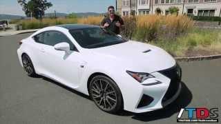 getlinkyoutube.com-FIRST DRIVE! 2015 Lexus RC F