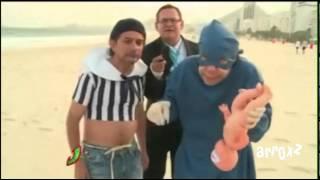 getlinkyoutube.com-Los Mascabrothers hacen un Homenaje a diversos Cómicos (Brasil 2014)