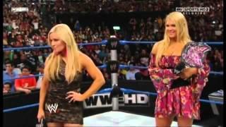 Smackdown 21/10/11 Eve embarrasses Beth Phoenix