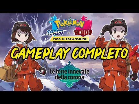 *GAMEPLAY COMPLETO*  Pokemon SCUDO Le Terre Innevate della Corona DLC ITA