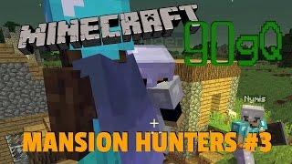 getlinkyoutube.com-Minecraft 90gQ | Mansion Hunters #3 | Monster överallt!