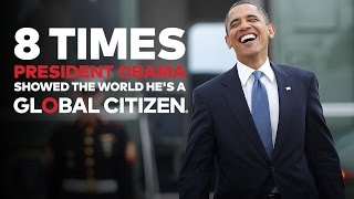 8 Times President Obama Showed the World He's a Global Citizen