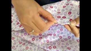 getlinkyoutube.com-Cara Membuat Sarung Bantal Tanpa Menggunakan Mesin Jahit
