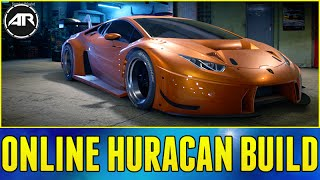 getlinkyoutube.com-Need For Speed Online : WIDEBODY HURACAN BUILD (Drift & Racing Online)