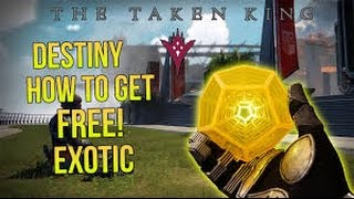 SUPER SECRET Exotic farm spot Destiny The Taken King DLC