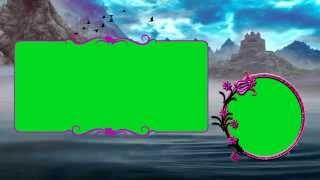 getlinkyoutube.com-Beautiful Wedding Frame in Green Screen Background Video Downloads
