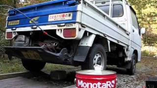 サンバートラック(KS4)オイル交換