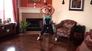 getlinkyoutube.com-Waist Trimming/Thigh Toning Dance Workout