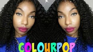 getlinkyoutube.com-New Colourpop Ultra Matte Liquid Lipsticks Shades| More Better, Instigator, Chilly Chili + More!!