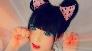 getlinkyoutube.com-DIY ♥ Cat Ear Hairstyle