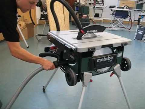 Video showing the Metabo TS 254 in use Youtube Thumbnail