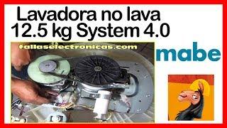 Lavadora Mabe no lava | 12.5 kg System 4 0