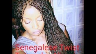 getlinkyoutube.com-OBIA's Senegalese Twist Hair Tutorial in Nigeria