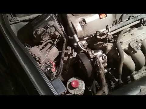 Ремонт крепления насоса ГУР Honda Odyssey Rb1/Rb2