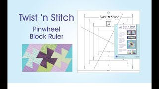 getlinkyoutube.com-June Tailor Twist N Stitch Ruler Demonstration Video