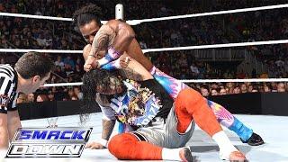 getlinkyoutube.com-Dean Ambrose & The Usos vs. The New Day: SmackDown, December 3, 2015