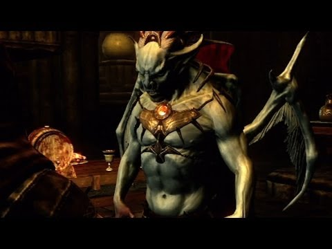 Castle Volkihar and Lord Harkon - Skyrim: Dawnguard Gameplay (Xbox 360)