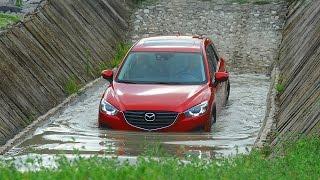 Mazda CX-5 вне асфальта