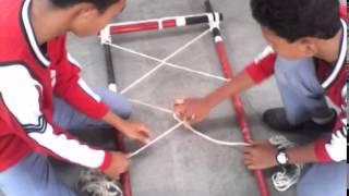 getlinkyoutube.com-Proses Pembuatan Tandu Pramuka- Lengkap