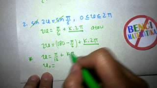 Persamaan trigonometri 1