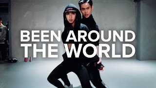 getlinkyoutube.com-Been Around The World - August Alsina Feat. Chris Brown / Eunho Kim & Mina Myoung Choreography