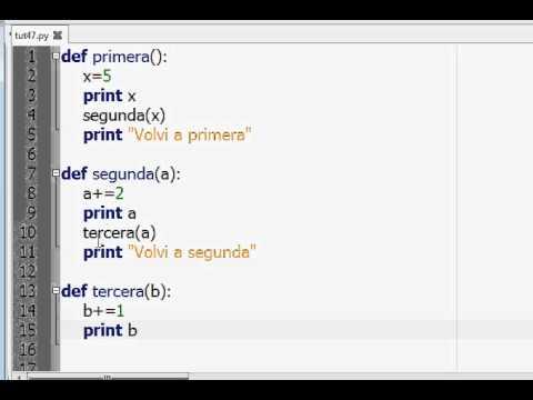 Programacion Python 48 : Pasaje de Parametros