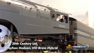 getlinkyoutube.com-OFFICIAL Paragon2 NYC Niagara 4-8-4 and Dreyfuss Hudson Promo Video by Broadway Limited Imports, LLC