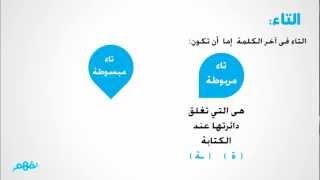 getlinkyoutube.com-التاء المربوطة والتاء المبسوطة - لغة عربية - رابعة ابتدائى - موقع نفهم