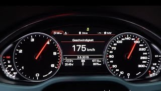 getlinkyoutube.com-2015 Audi A8 4.2 TDI quattro 385 HP 0-100 km/h & 0-100 mph Acceleration GPS