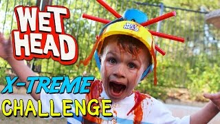 getlinkyoutube.com-Wet Head Challenge EXTREME!! || Family Game Night