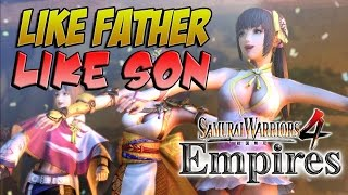getlinkyoutube.com-FAMILY OR AMBITION?! Samurai Warriors 4 Empires (#9)
