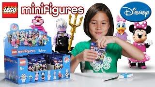 getlinkyoutube.com-LEGO DISNEY MINIFIGURES - PART 2!!! JillianTubeHD Blind Bag UNBOXING!