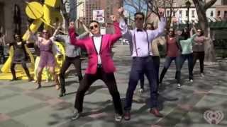 getlinkyoutube.com-PSY's 'Gentleman' Invades New York City  Z100 News - Z100 - New York's Hit Music Station