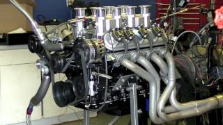 getlinkyoutube.com-LS3 Fuel Injection Stacks - Dyno - SPSENGINES.COM