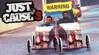 getlinkyoutube.com-THE WORLDS HARDEST SURVIVAL CHALLENGE EVER! (Just Cause 3 Funny Moments)